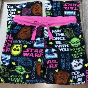 Star Wars Super Soft Pajama Lounge Pants Small